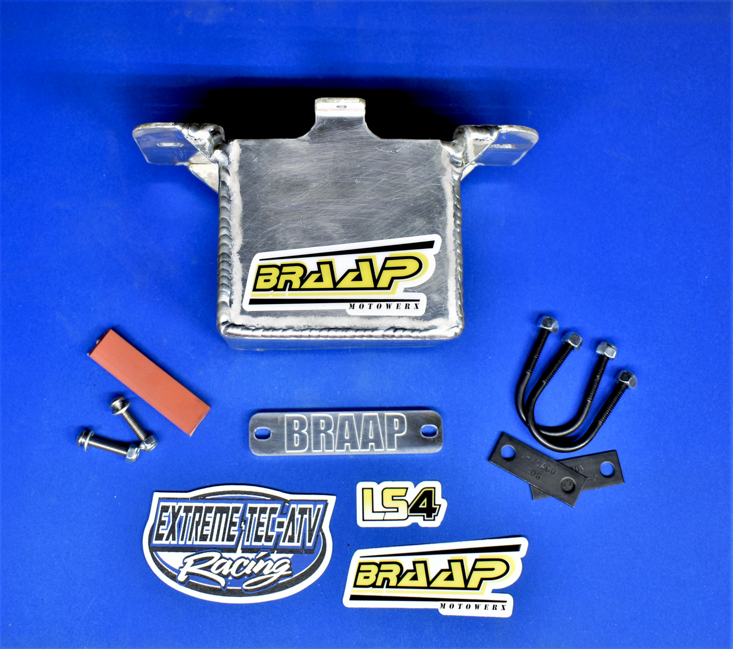 Braap Motowerx TRX450R Under-Seat Battery Box