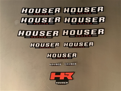 Houser Racing Decal Kit