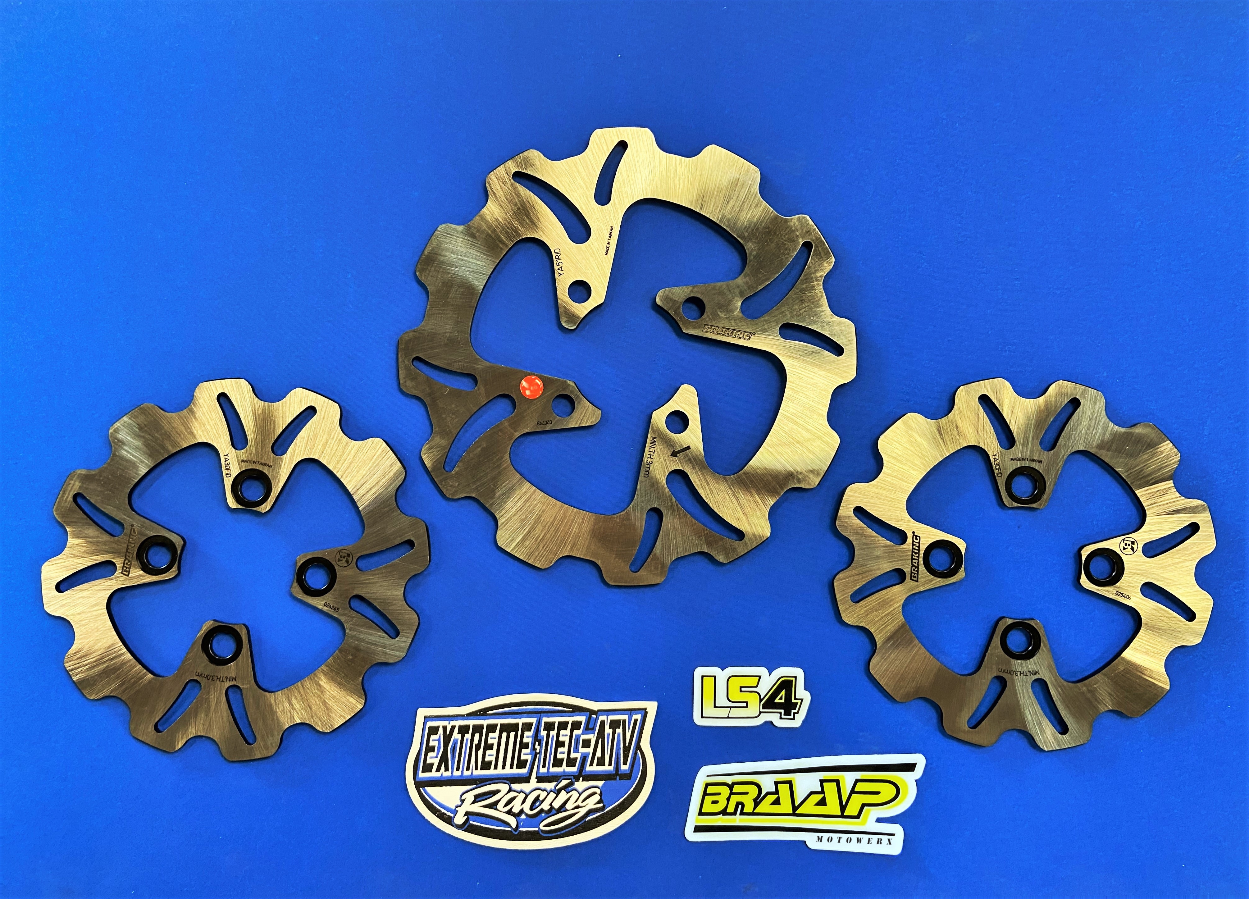 YFZ450R/X YFZ450 Raptor 700 Race Brake Rotor Full Set
