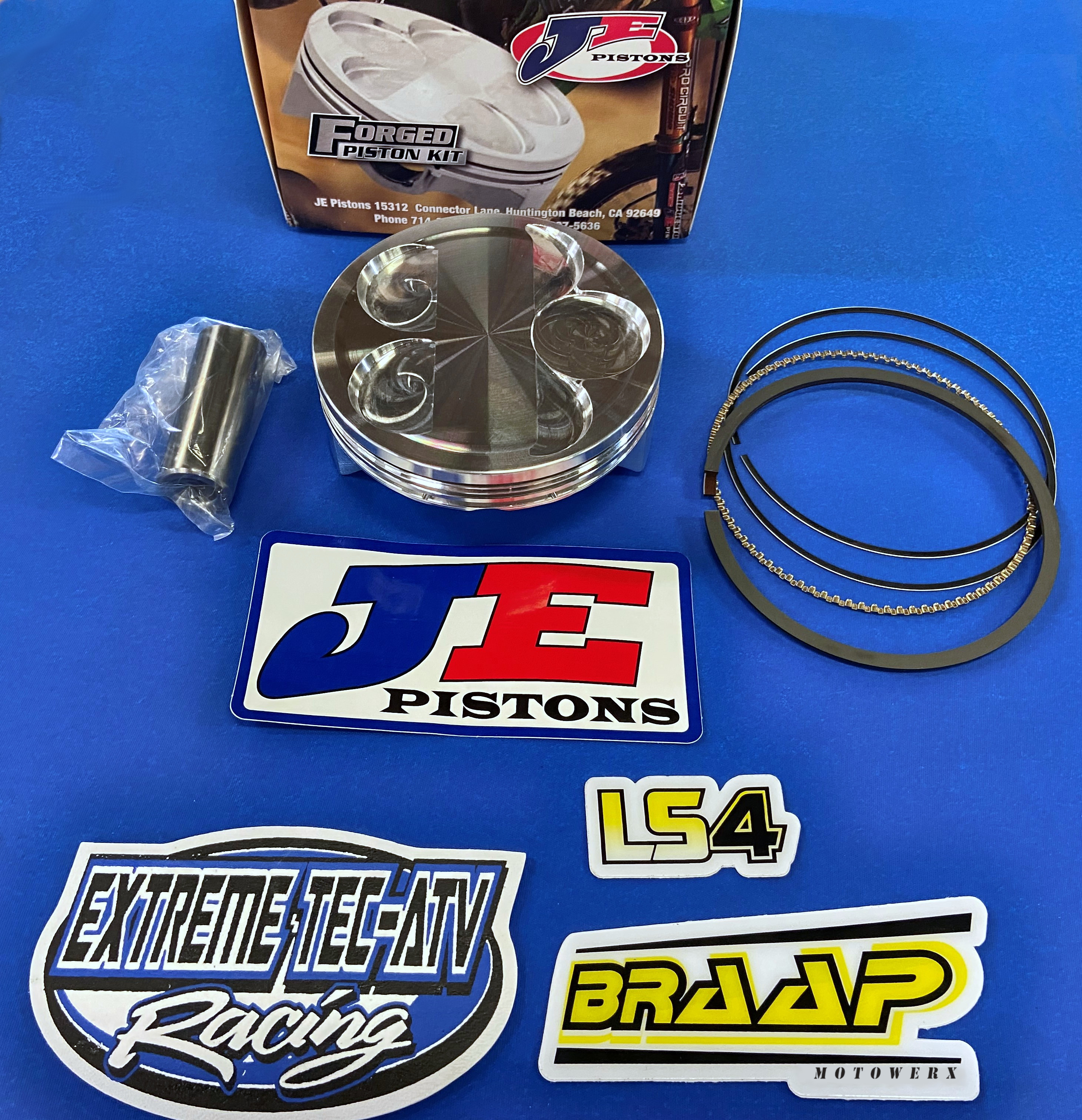 JE YFZ450R/X YFZ450 12.5:1 3-Ring Race Piston